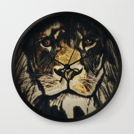 Noble Lion Wall Clock