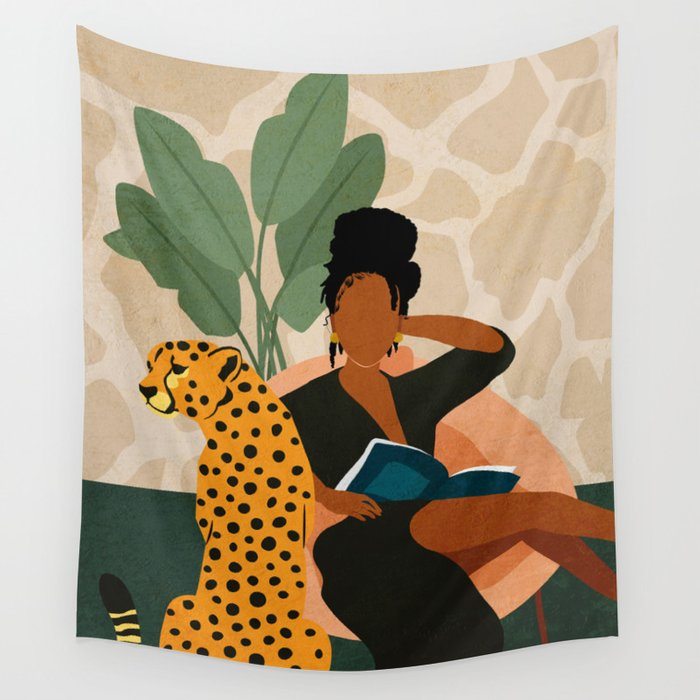 Stay Home No. 1 Wall Tapestry