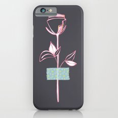 Rosewall (on grey) Slim Case iPhone 6s
