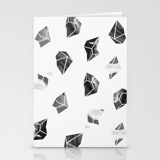 Marble Fragments Stationery Cards