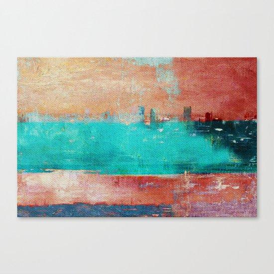 Autumn Town Canvas Print