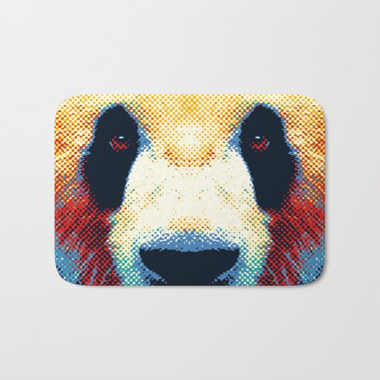Panda - Colorful Animals Bath Mat