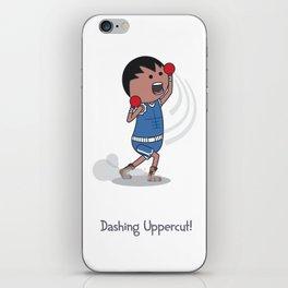 Dashing Uppercut iPhone Skin
