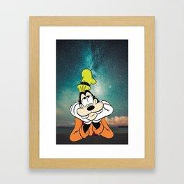 Goofy Dreams Framed Art Print