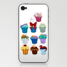 The Princess Cupcake Collection  iPhone & iPod Skin