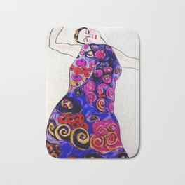The Embrace Reimagined By James Thomas Ryan Bath Mat
