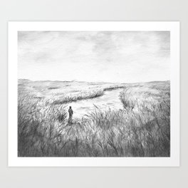 The Willows Art Print