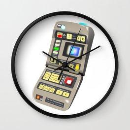 Tricorder Wall Clock