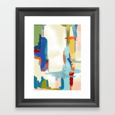 Landscape Deconstructed Framed Art Print