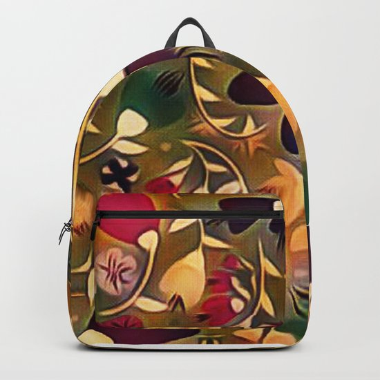 Floral Mixup Backpack