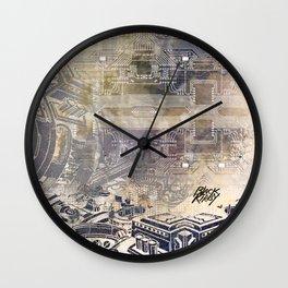 BK QUANTUM ABSTRAKT Wall Clock
