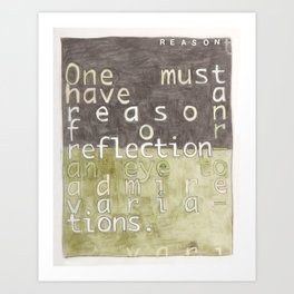 A Reason Art Print