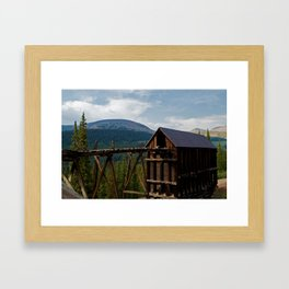 Lost Gold Country Framed Art Print