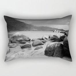 Sand Harbor, Lake Tahoe ... after the storm Rectangular Pillow
