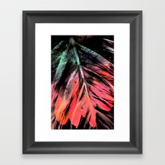 PLUma Framed Art Print