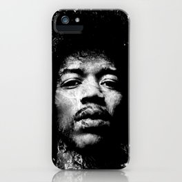 HENDRIX (BLACK & WHITE VERSION) iPhone Case
