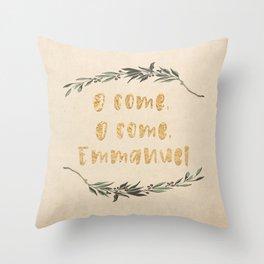 O Come, O Come, Emmanuel Throw Pillow