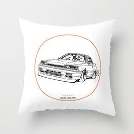 Crazy Car Art 0192 Throw Pillow