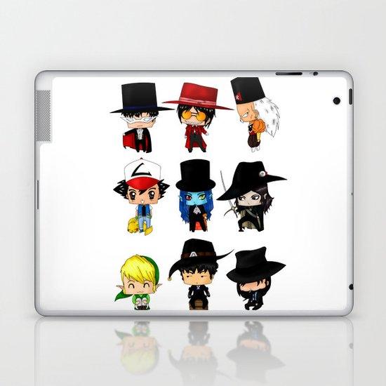 Anime Hatters Laptop & iPad Skin