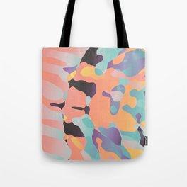 Planetary Fragmentation Tote Bag