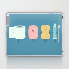 The Bathroom Gang Laptop & iPad Skin