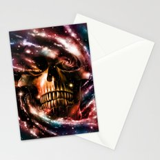 Space Skull II Stationery Cards