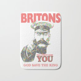 Your Country Needs You - Digital Bath Mat