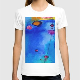 Magical Thinking No. 2C by Kathy Morton Stanion T-shirt