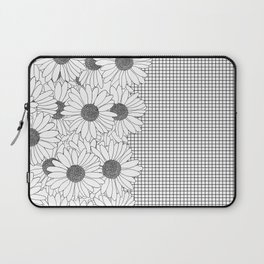 Daisy Grid on Side Laptop Sleeve