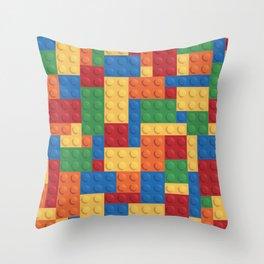 The Lego Group Throw Pillow