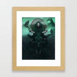 A Gifted Girl Framed Art Print