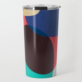 Shapes Abstract 19 Travel Mug