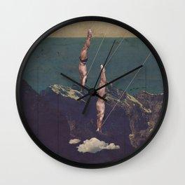 High diving Wall Clock