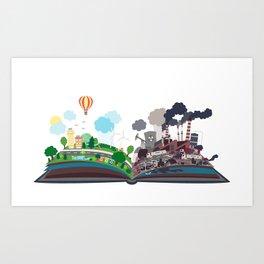 EcoBook Art Print