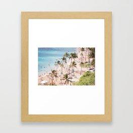 Hanauma Bay Hawaii Framed Art Print