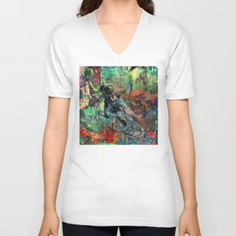 Lost in Urbanity Unisex V-Neck
