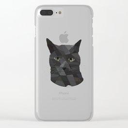 Russian Blue Clear iPhone Case