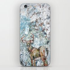 That moment with the deer iPhone & iPod Skin