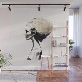 Serene - Digital fashion illustration / painting Wall Mural