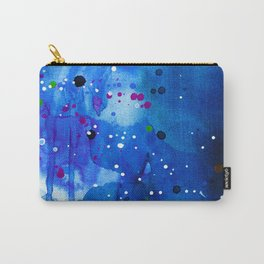 Fireflies - Abstract painting Carry-All Pouch