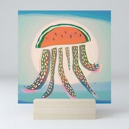 Sun Watermelon Rain Jellyfish Mutants Sequence 3 Mini Art Print
