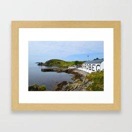 Ardbeg Distillery in Islay Framed Art Print