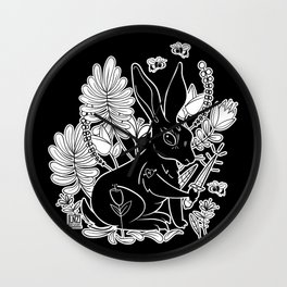 Killer Rabbit Wall Clock