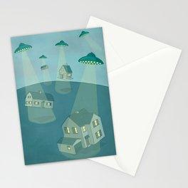 UFO Stationery Cards