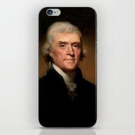 President Thomas Jefferson iPhone Skin
