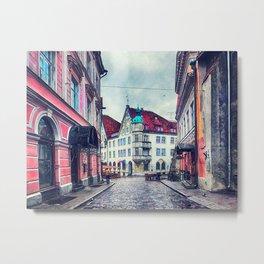 Tallinn art 11 #tallinn #city Metal Print