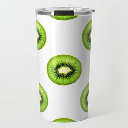 Kiwi Fruit Slice Travel Mug