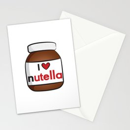 Nutella Cute Stationery Cards