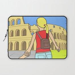 Follow me to Rome Laptop Sleeve