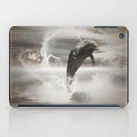 dolphin iPad Cases featuring Dolphin by nicky2342